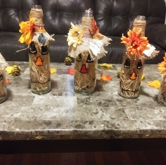 Scarecrow Family of 5